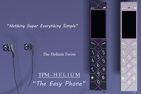TPM - Helium 'The Easy Phone' by Imran Sheikh for The Power Machines