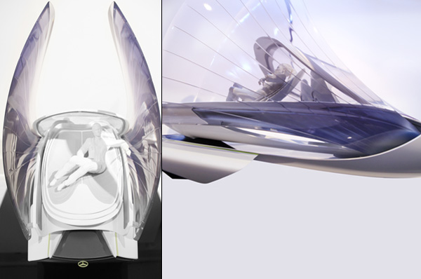 Pure Light – Mercedes Concept Vehicle by Lena Knab