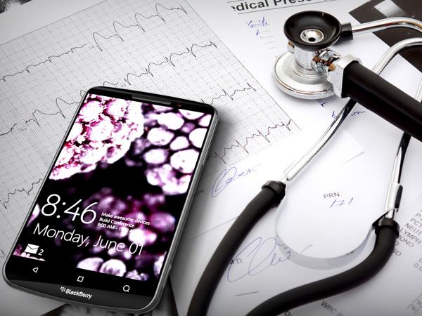 BlackBerry Smartphone with Microsoft Windows by Michal Bonikowski