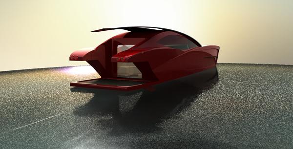 Ferrari E110 Eléganté - Speedboat by Abdul Wahid