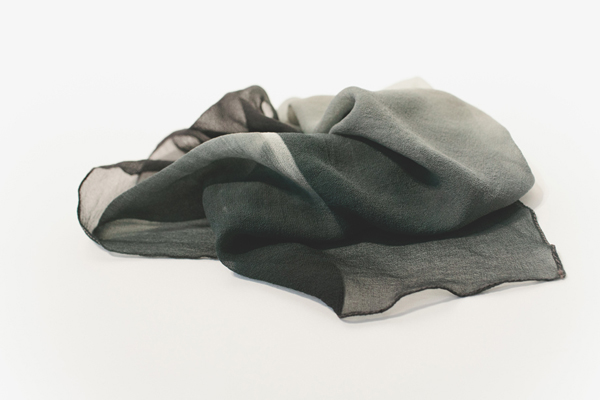Silk and Iron Scarf by Miya Ando