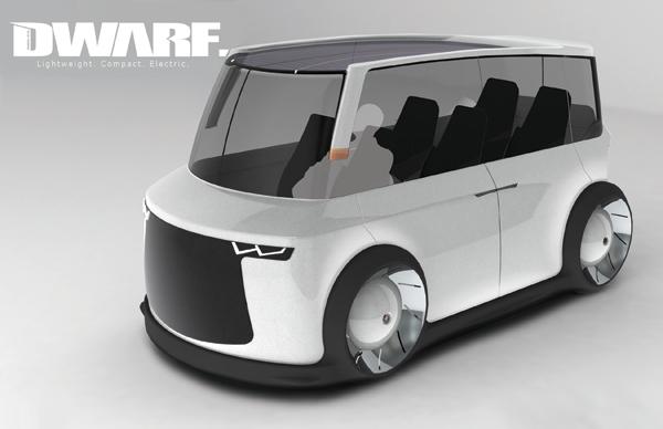 Dwarf - Electric Minibus by Dakoda Reid
