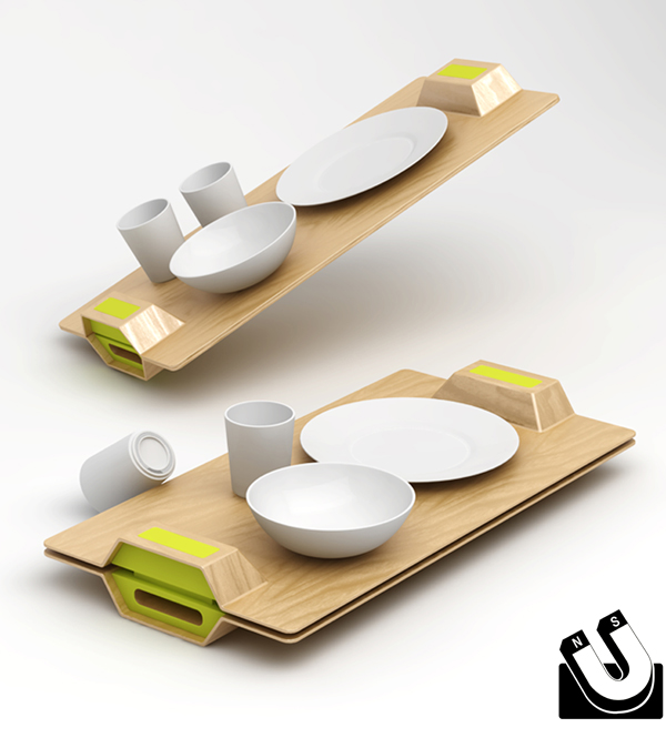 Magic Tray by Ryan Jongwoo Choi