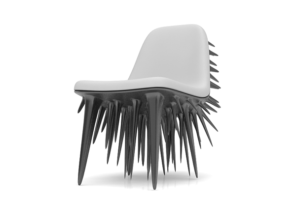 Icicle Chair by Ali Alavi