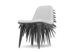 Spikey Seating