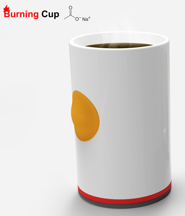 Burning Cup – Cup Heater Design by Ryan Jongwoo Choi