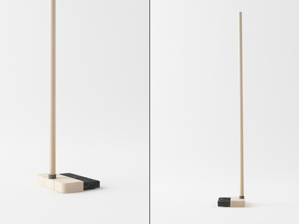 Standing Broom Design by Poh Liang-Hock
