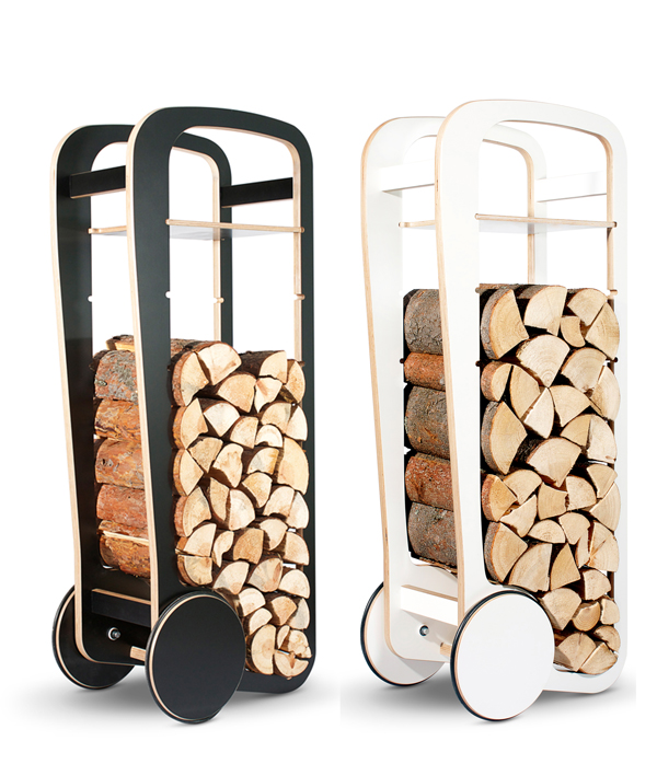 Fleimio Wood Trolley by Tero Jakku