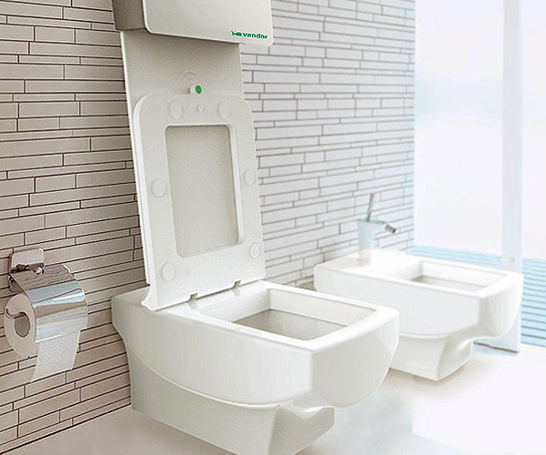 CSM Automatic Toilet by Bluelarix Designworks