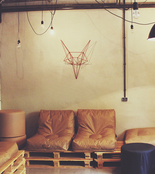 Steel Fox - Wall Decor by Bongo Design
