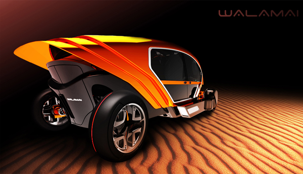 Walamai Outback Explorer - Concept Vehicle by Garryd Howells