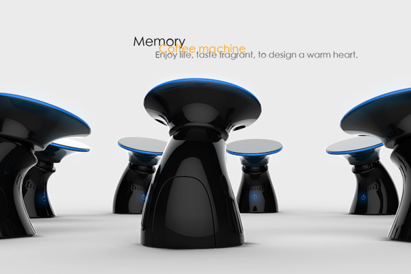 Coffee Maker That Uses Hand Print Recognition : Electrolux Design Lab 2012 Top 30 Declared! Yanko Design