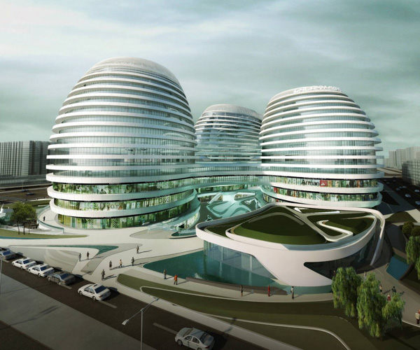 Changing the chinese skyline yanko design for Modern architecture concept