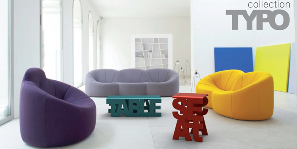 Typo - Furniture Collection by Luiza Boaventura Mendonça