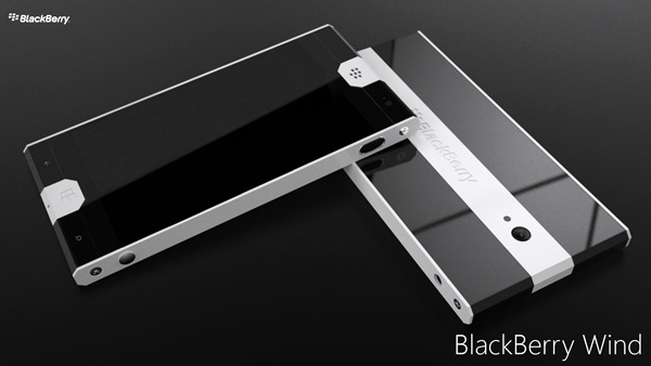 BlackBerry Wind Concept Phone by Valentin Gallard