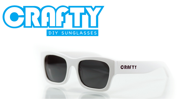Crafty Customizable Sunglasses by Del Rey & Co.