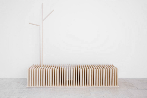 A Tree in the Meadow - Furniture by Zsanett Benedek & Daniel Lakos