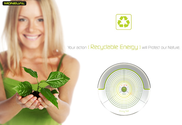 Giving Tree – Robotic Vacuum Cleaner by Kim Yo Hwan