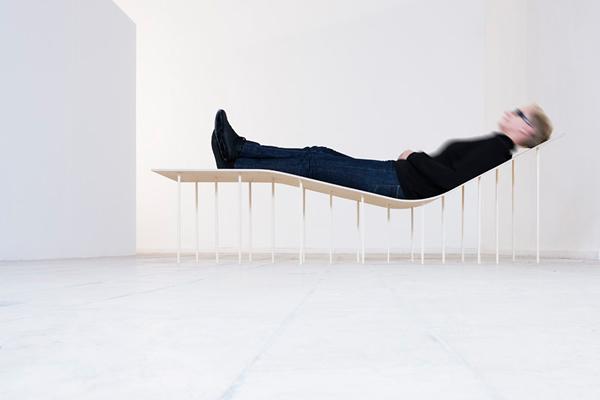 Levity - Chaise Lounge by Zsanett Benedek & Daniel Lakos