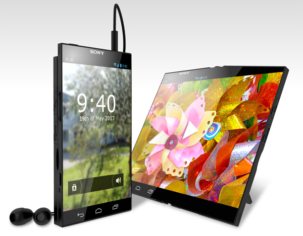 Sony Pocket Tablet Concept by Patrik Eriksson