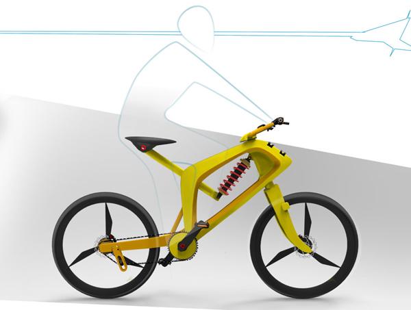 Hercules Topgear-S - Concept Bicycle by Harikrishnan.P.K