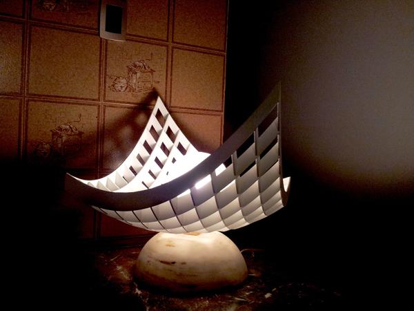 The Paraboloid Lamp by Fernando Molas Garcia