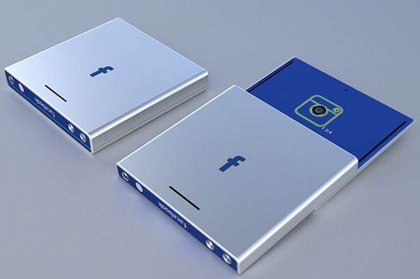 Facebook phone by Tolga Tuncer