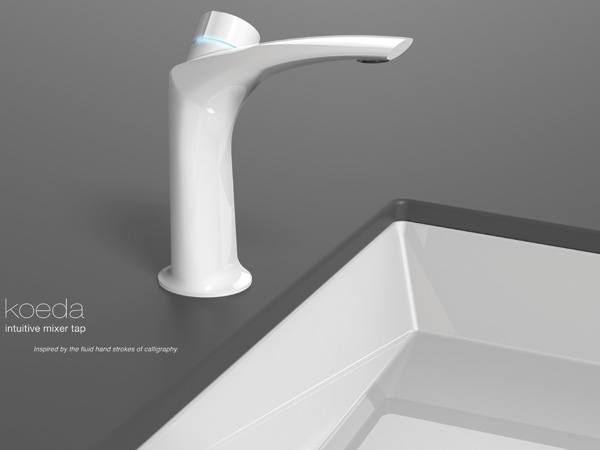 Koeda – Intuitive Mixer Tap by Shan Shan Wang