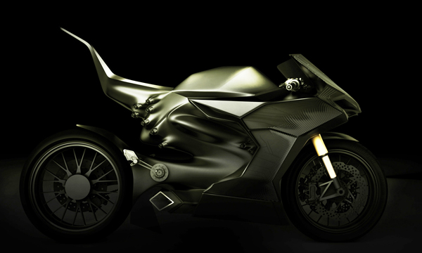 001.HRR Hybrid Race Replica - Concept Motorcycle by Luis Quinones, Jonathon Stahl, & David Stamatis
