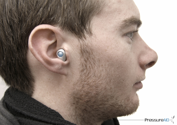PressureAID - Waterproof Hearing Aid by Nicholas Marks