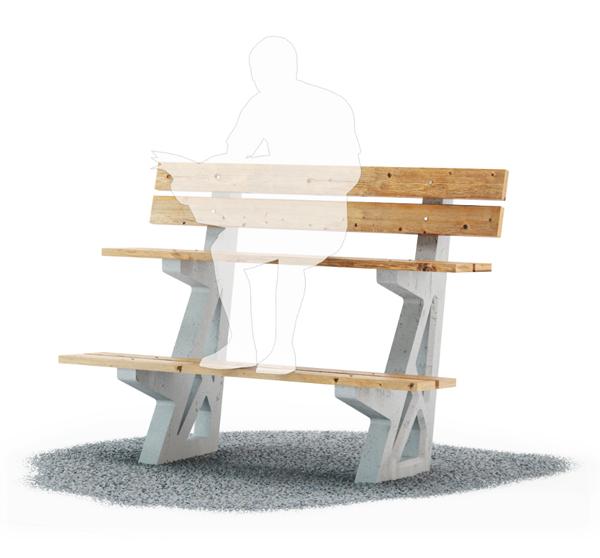 Mnogoyarus- Urban Bench by Lebedev Studio
