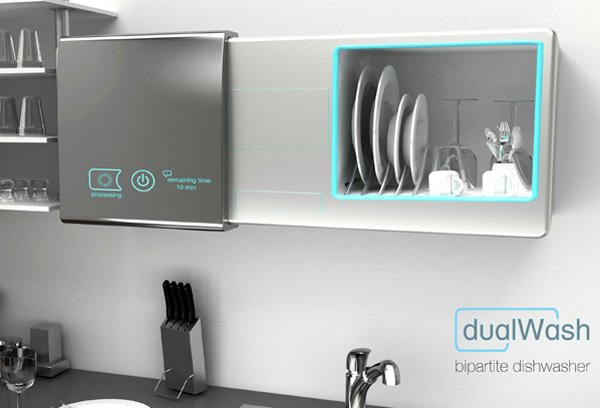 DualWash - Bipartite Dishwasher by Gökçe Altun, Nagihan Tuna, Pınar Şimşek and Halit Sancar