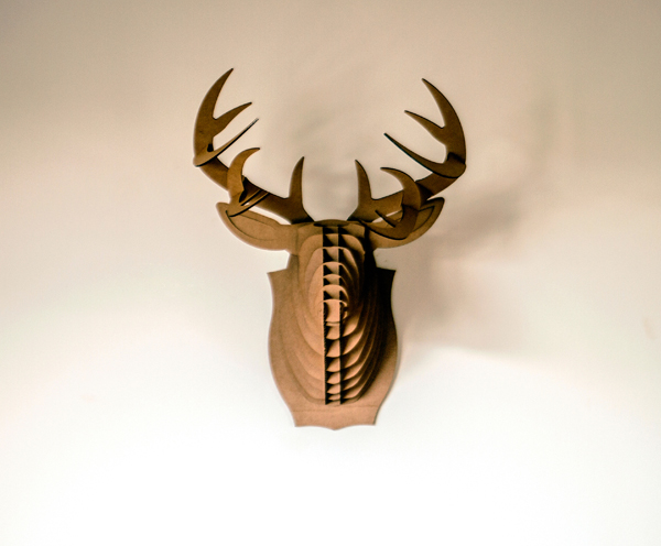 Philou le Caribou - Lighting Decor by Maxime Dubreucq, Vincent Claudepierre, & Benoit Louzaouen