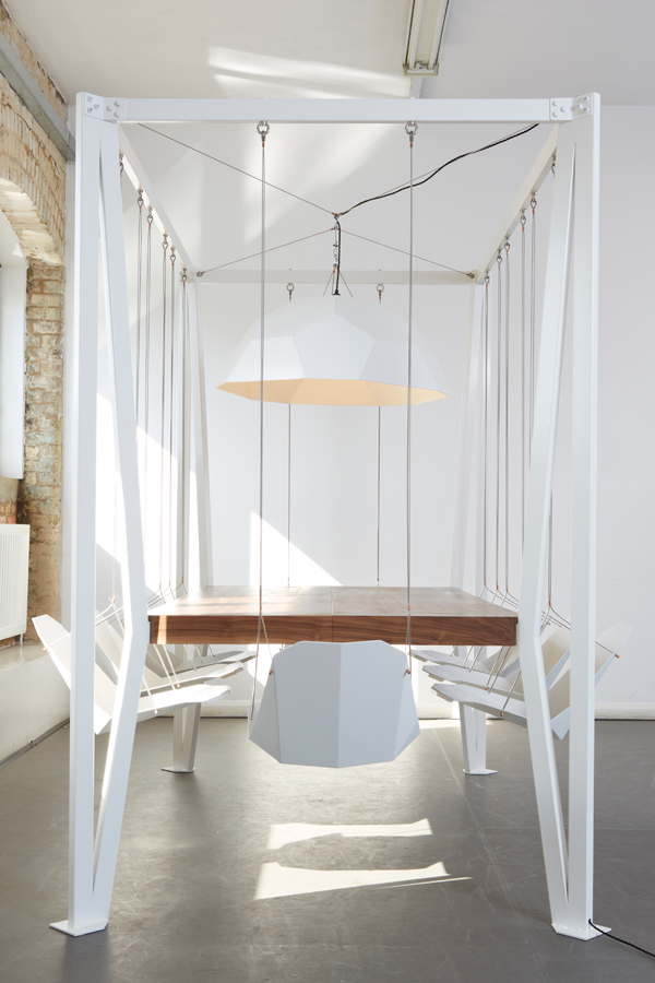 The Swing Table by Duffy London