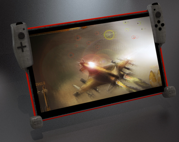 Gamepad for Tablet by Johan Godfroid