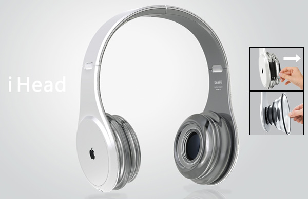 iHead Headphone Concept by Sungak Kim
