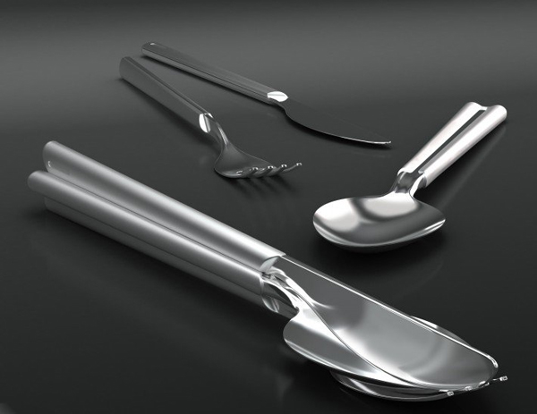 Attention! Cutlery Set by Designnobis