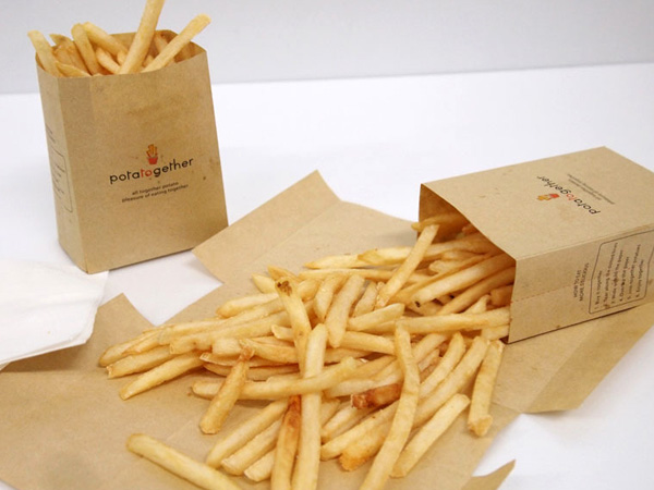 potatogether – French Fries Bag Redesign by Chonbuk National University
