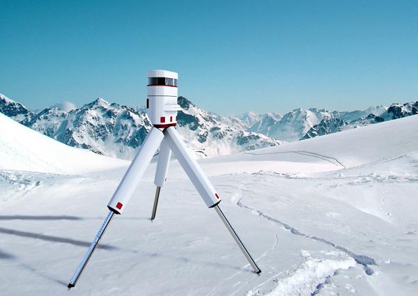 Nevero - Glacier Laserscan by Carlos Schreib