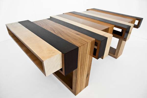 Wood-con-fusion - Furniture by Eli Chissick