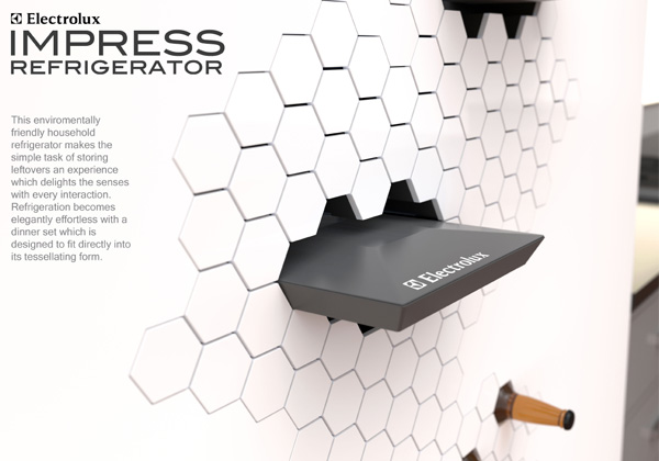 Electrolux Impress Refrigerator by Ben de la Roche
