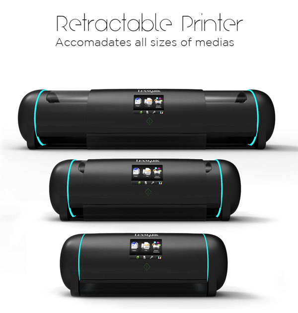 Retractable Printer by Neilson Navarrete