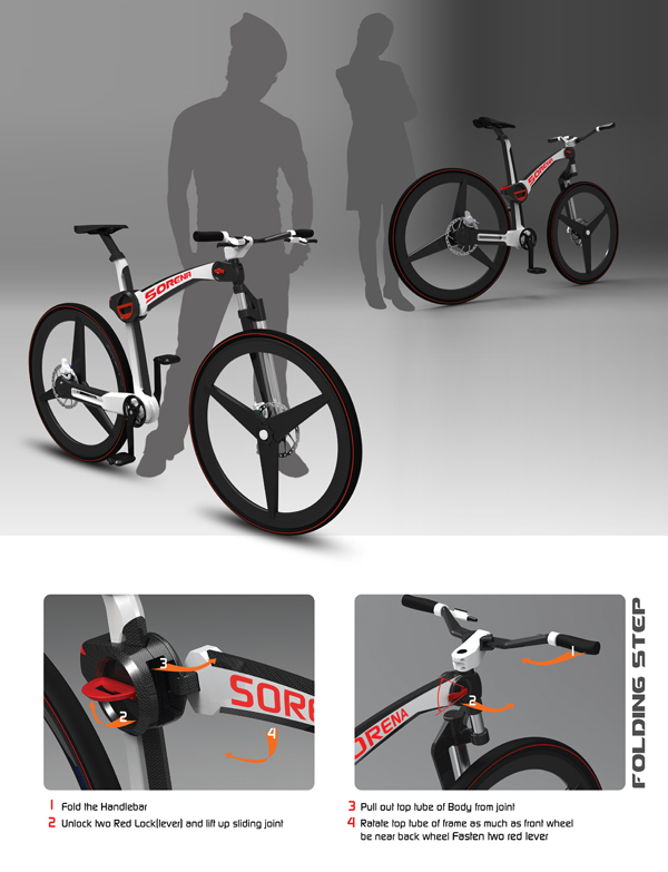 Sorena - Folding Bicycle by Mahdi Momeni