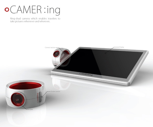 CAMER-ing Digital Camera by Hyeonsik Studio & Jeon Yengwon