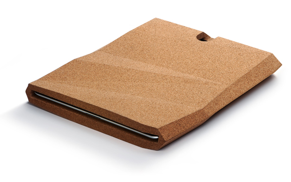 iPad Cork Case by pomm.design.studio