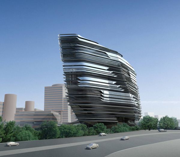 Innovation Tower by Zaha Hadid Architects