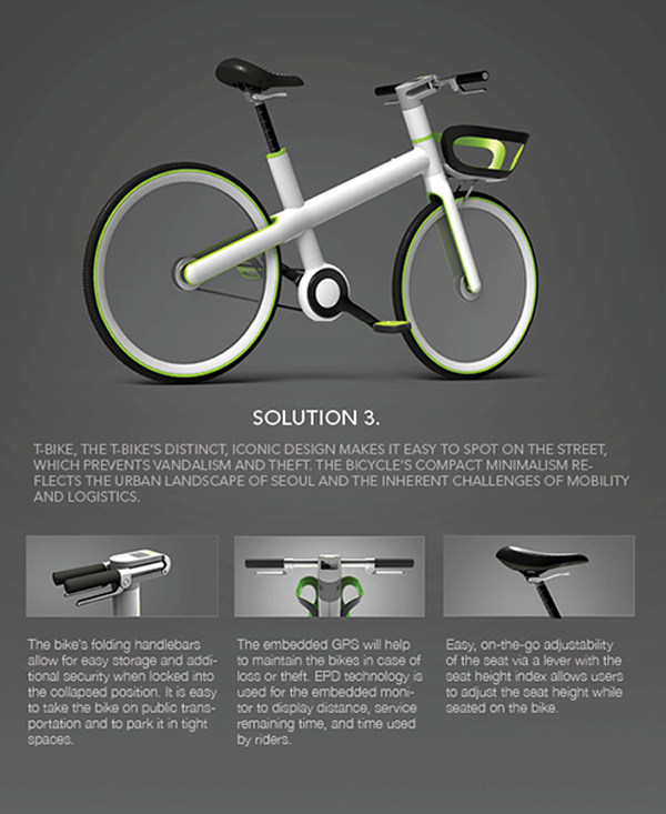 Design of T-bike
