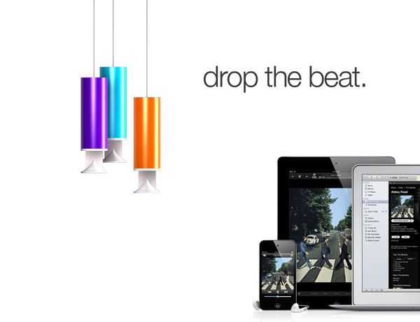 Drop the Beat - AirPlay Speakers by Vincent Säll