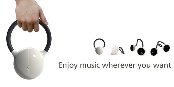 cool speakers design. moktak portable outdoor speakers by soohun jung cool design
