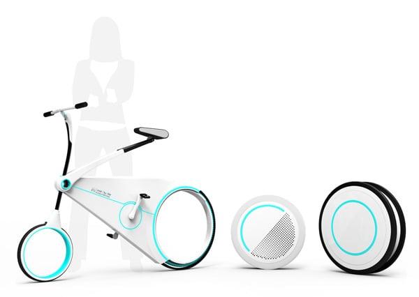 Smart City Bike by Yo-Hwan Kim